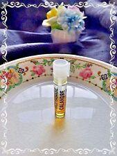 Paco Rabanne Vintage Calandre Pure Parfum .5mL sample Women *Metal* Rose *Rare*