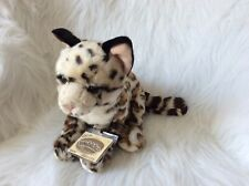 WEBKINZ SIGNATURE LARGE OCELOT +  4 PACKS TRADING CARDS  - NEW W/ SEALED CODE