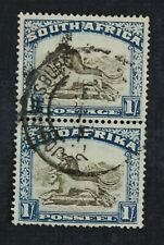 Ckstamps: Gb South Africa Stamps Collection Scott#43 Used Lightly Crease