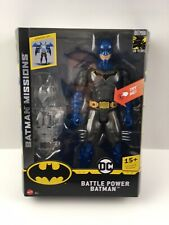 DC BATTLE POWER BATMAN - 12 INCH ACTION FIGURE - 15+ PHRASES - 80 YEARS - NEW