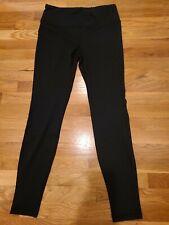 Stonewear Designs Women Black Active Pants, Size Medium, yoga, running EUC!