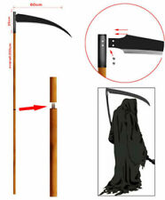 Grim Reaper Monster Steel Scythe 80 Inches Stainless Steel Sickle