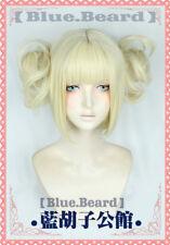 My Boku no Hero Academia Himiko Toga anime Costume Cosplay Wig +Wig Cap