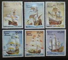 Guine Bissau 1985 Sailing Ships - 6v Used