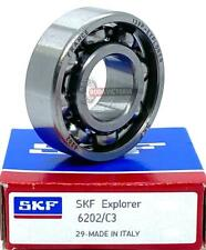 6202 15x35x11mm  Open Unshielded SKF Radial Deep Groove Ball Bearing