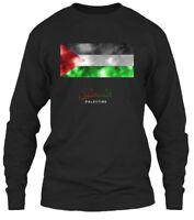 Palestine S - Gildan Long Sleeve Tee T-Shirt
