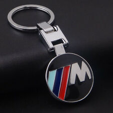 Car Logos Titanium Key Chain Keychain Ring Keyfob Metal Keyrings for BMW M sport