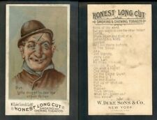 """1891 N104 Duke Comic Characters ' But, You Ought See Other Feller """" 1180"""