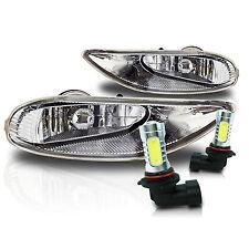 02-04 Camry, 05-08 Corolla, 02-03 Solara Fog Light Kit w/Wiring & COB LED Bulbs