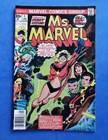 Ms. Marvel # 1 1977 1st Carol Danvers as Ms Marvel KEY BOOK Marvel Universe