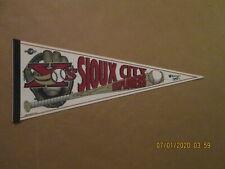 American Association Sioux City Explorers Vintage 2000's Logo Baseball Pennant