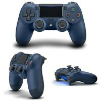 Wireless Controller for PlayStation 4 Midnight Blue DualShock 4 Gaming Console