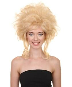 "Adult Women's 16"" Inch Medium Length Halloween Baroque Renaissance Costume Wig"