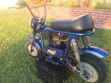 1960-70's KEYSTONE DELUXE Royal Blue MINI BIKE in Great Condition