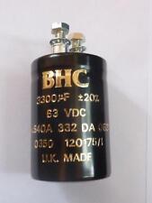 BHC Schraub-Elko 3300uF 63V Netzteil Elko Kondensator 3300µF ALS40A 332 DA 063