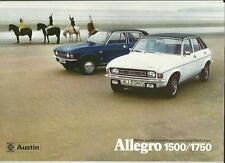 BRITISH LEYLAND AUSTIN MORRIS ALLEGRO 1500/1750 (SPORT) SALE BROCHURE JUNE 1975