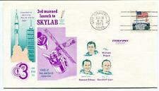 1973 SKYLAB Saturn 1B Sun & Earth Resources Cape Canaveral NASA Space