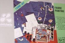 Vintage Lee Wards Fabric Painting Kit, Nip