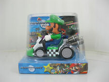 Mario Pull Back Auto SUPER MARIO Brothers Kart Nintendo Wii Figure Luigi