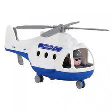 Wader Polesie Polizei Hubschrauber Helikopter Kinder Spielzeug Heli 68712