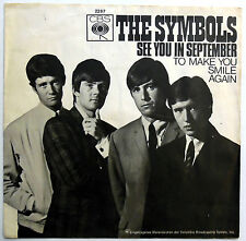 THE SYMBOLS 45 See You In September / To Make You.. MOD BEAT German Press e3044
