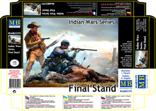 Master Box 35191 Final Stand, Indian Wars Series Scale Plastic Kit 1/35
