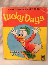 Walt Disney's - Lucky Days - 1st/1st 1955 - Original Wraps - Donald Duck Scarce