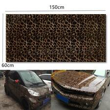 1.5m x 600mm Waterproof Leopard Print Vinyl Car Sticker Sheet Wrap Film Decor