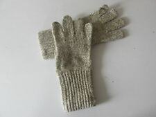 WOMAN'S GRAY WOOL BLEND LIGHTWEIGHT FALL GLOVES  - MADE IN THE USA