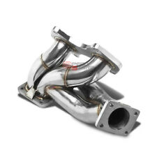 FOR 93-98 MAZDA RX7 FD3S 13B FD T4 STAINLESS STEEL TURBO MANIFOLD EXHAUST KIT
