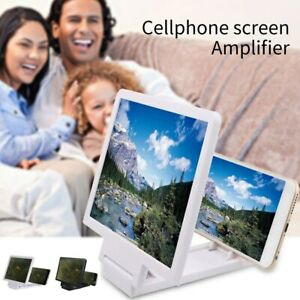 UNIVERSAL SCREEN ENLARGER 3D MAGNIFIER FOLDABLE PORTABLE STAND FOR LATEST PHONES