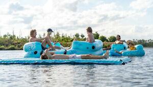 cloud radar leisure Floating Water Mat Pad Blanket Bed Swimmng Pool Water Sports