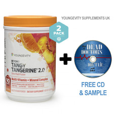 Beyond Tangy Tangerine 2.0 Citrus Peach Fusion 2 Pack FREE NEXT DAY DELIVERY!