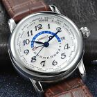 Watch Parnis Corgeut 43mm Movement Automatic SEAGULL, Dial WHITE