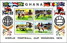 GHANA - BF - 1974 - Coppa mondiale di calcio in Germania