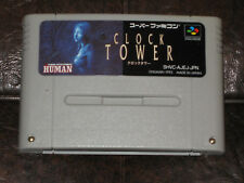 Clock Tower - Super Famicom Nintendo SFC SNES JP Japan Import 1 I Human