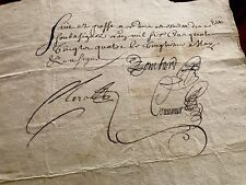 1684 Old Handwritten Document