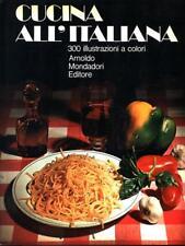 CUCINA ALL'ITALIANA PRIMA EDIZIONE AA.VV. MONDADORI 1972