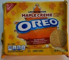NEW Nabisco Oreo Maple Creme Flavored Creme Sandwich Cookies FREE SHIPPING