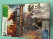 Transformers Fall of Cybertron - XBOX 360 - Game - Complete