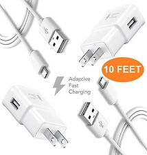Huawei Honor Note 8 Charger Fast (10 FEET) Type-C Cable Kit by TruWire {2 Fas...