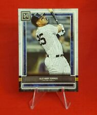 GLEYBER TORRES 2020 Topps Museum Collection #75 New York Yankees