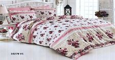 NEW BED LINEN 100%COTTON-MODERN YOUTHFUL KING SIZE/BEDDING SET/ COTTON SATEEN