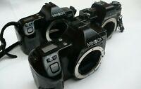 Job Lot 3x 35mm Film SLR  Cameras VEB Pentacon Praktica Minolta 3000