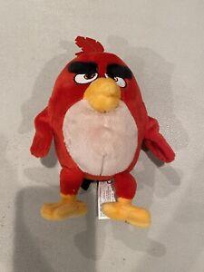 """Angry Birds Movie 6"""" Plush Red Bird 2016 Rovio"""