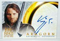 Lord of The Rings Return King LOTR ROTK Viggo Mortensen Aragorn Autograph Card