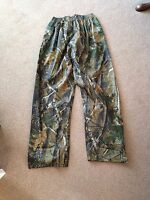 Realtree Waterproof Trousers Camo Fishing Shooting Hunting Carp Stormproof Xxl