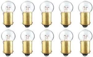 #55 6V Dash Speedometer Gauge Cluster Map Glove Box Light Bulbs Lamps 6 Volt x10