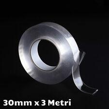 Magic tape nastro biadesivo multifunzione nano tecnologia, lavabile, antiscivolo