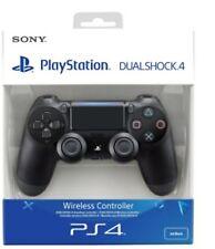(PS4) DualShock 4 Black V2 BRAND JET BLACK NEW SEALED.